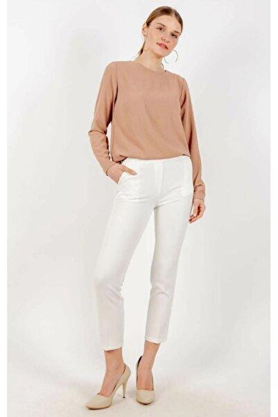 Loreen Kadın Beyaz Pantolon