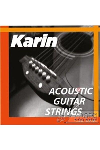 Karin K206 - Akustik Gitar Teli ( Takım Tel )