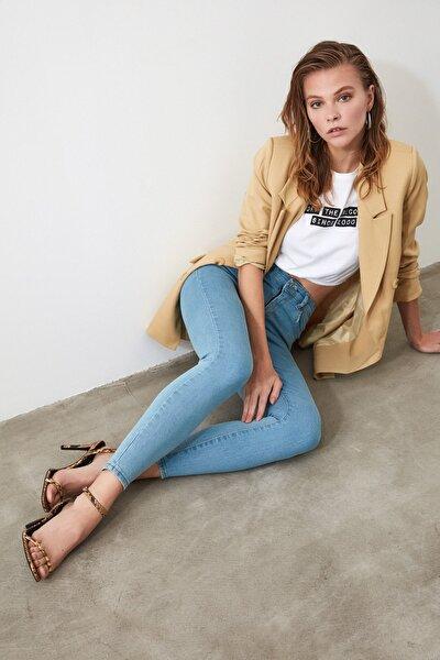 Mavi Yüksek Bel Skinny Jeans TWOSS20JE0301