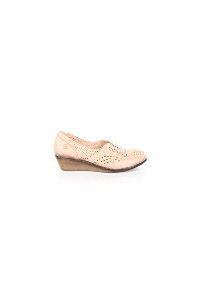 Iç Dış Hakiki Deri Yazlık Günlük Kadın Ayakkabı