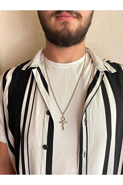 ms merijewelry Yılanlı Ankh Kolye