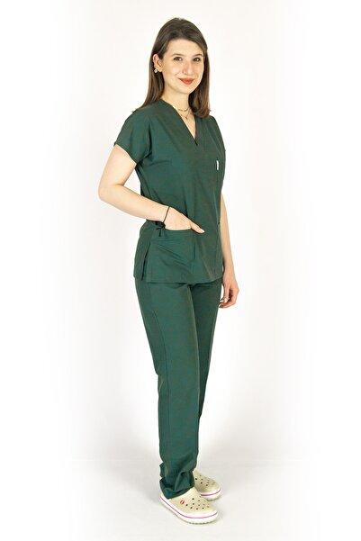 Simirna Üniforma Cerrahi Avcı Yeşili Takım
