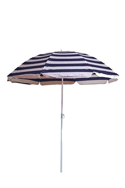 CMKStore Plaj Şemsiye 160 cm Balkon Bahçehavuz Gölgelik Fiberglass Şemsiye