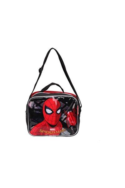 Disney Spiderman Erkek Çocuk Siyah Spiderman Beslenme Çantası