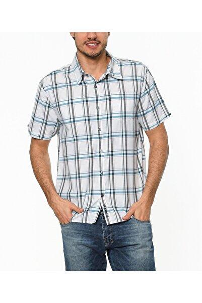 BİLLABONG Erkek Beyaz Combust White Kısa Kol Gömlek
