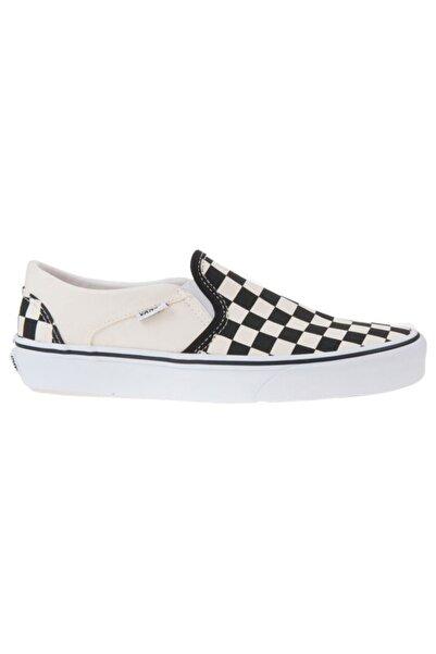 Vans ASHER Beyaz Kadın Sneaker Ayakkabı 100787547
