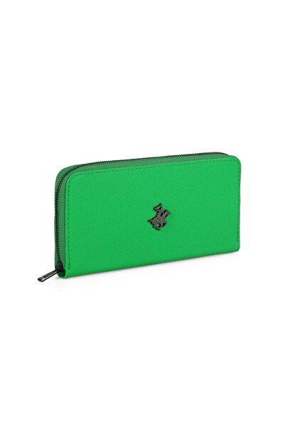 Beverly Hills Polo Club Kadın Cüzdan Neon Yeşil
