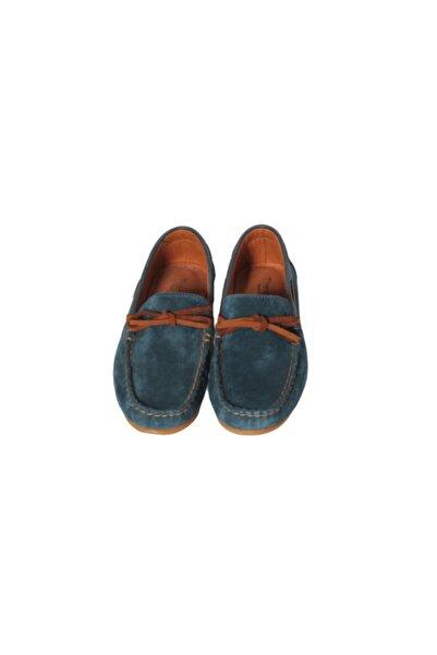 Tirenti Kadın Lacivert Klasik Süet Ayakkabı