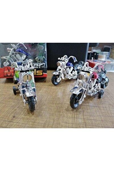 Çağrı Oyuncak Motor 3 Lü Harley Benzeri Çek Bırak 12 Cm Motor Erkek Çocuk Oyuncak Motor