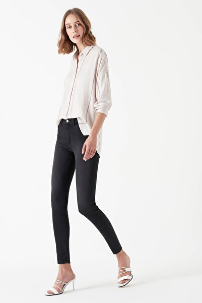 Mavi Kadın Alissa Gri Gold Lux Move Jean Pantolon 1067826937
