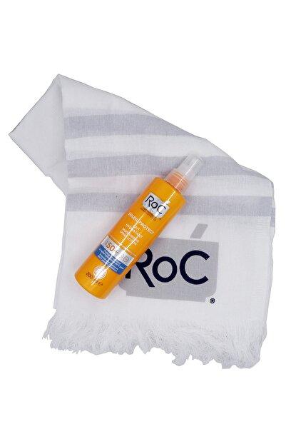 Roc Güneş Koruyucu Sprey Spf 50 200 ml + Peştemal