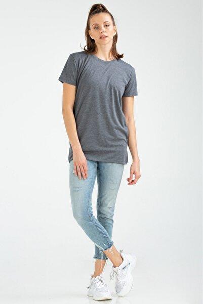 speedlife Kadın Tişört Platin Lacivert