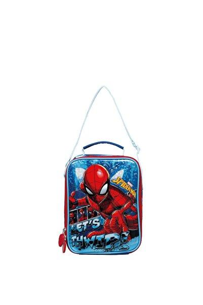SPIDERMAN Erkek Çocuk Mavi Spiderman Salto Lets Beslenme Çantası