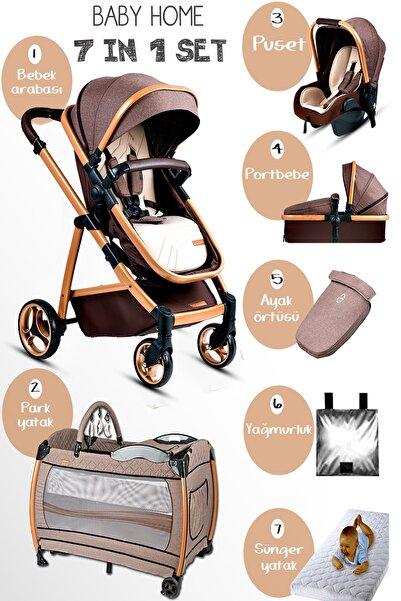 Baby Home 955 Gold Vip Travel Sistem Bebek Arabası 600 Oyun Parkı Park Yatak Beşik