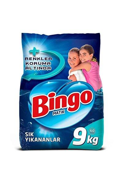 Bingo Matik Toz Çamaşır Deterjanı Sık Yıkananlar Renkli&beyaz 9 kg