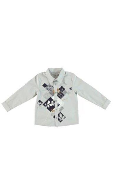 Monna Rosa Erkek Çocuk Beyaz Gömlek