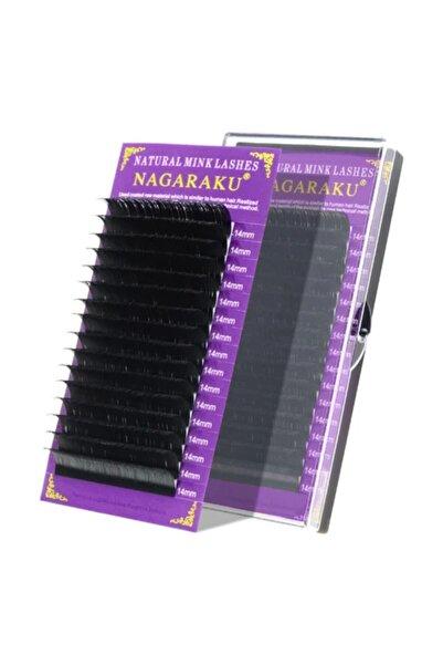 NAGARAKU İpek Kirpik D Kıvrım 0,10 Kalınlık - 11mm Uzunluk