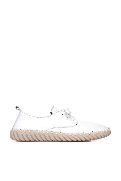 BUENO Erkek Beyaz Spor Ayakkabı 20mq0200