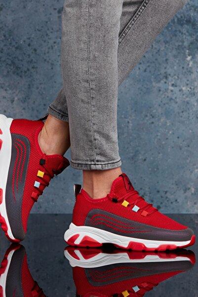 Kırmızı Kadın Sneaker DS.PMD11