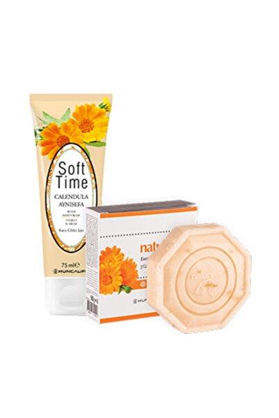 Huncalife D Vitaminli Sabun 90 gr  Soft Time Çiçekli Onarıcı El Kremi 75 ml