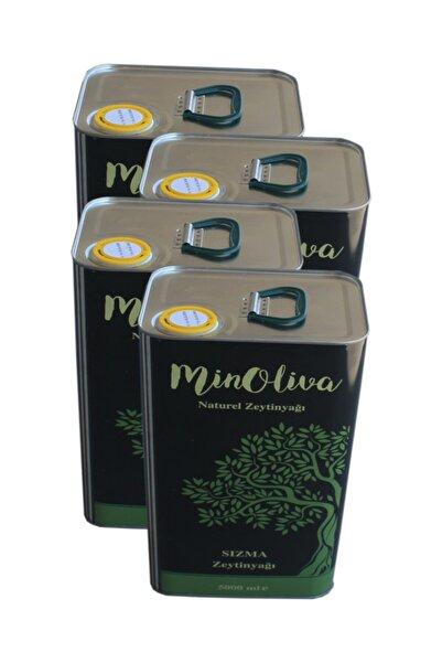 MinOliva Natürel Sızma 4x5 lt Zeytinyağı