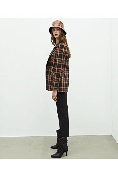 MISS IPEKYOL Kadın Siyah Klasik Kesim Pantolon