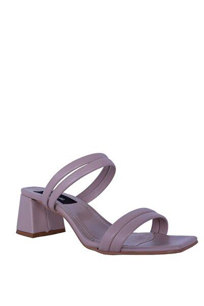 Derigo Kadın Bej Topuklu Ayakkabı 39069