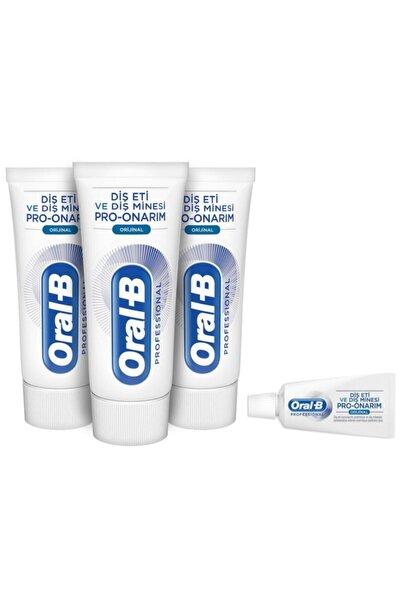 Oral-B Professional Diş Eti Ve Diş Minesi Pro Onarım Original 50 Ml X3+original Diş Macunu 15 Ml