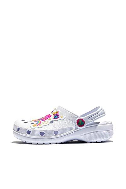 SKECHERS Heart Charmer Photobomb Kız Çocuk Beyaz Sandalet 308003l Wmlt