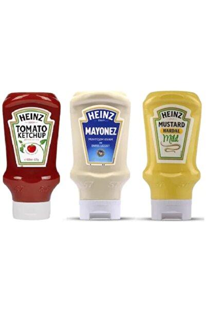 Heinz Ketçap 460 gr + Mayonez 395 gr + Hardal 445 gr