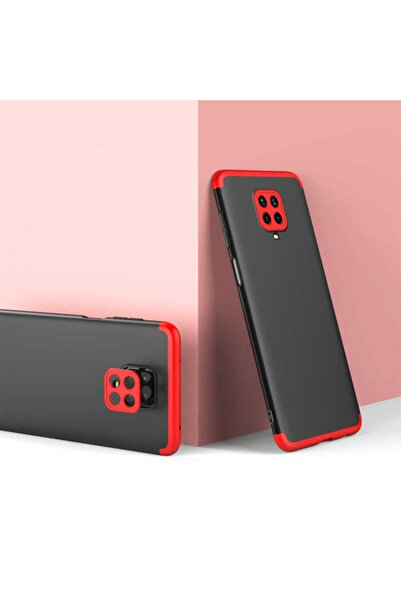 Xiaomi Redmi Note 9 Pro Sert Silikon Kapak Siyah