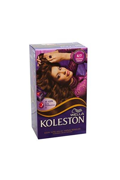 Koleston Saç Boyası Kit 6 7 Çikolata Kahve