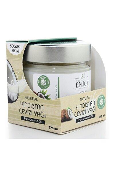 Enjoy Hindistan Cevizi Yağı Saf Doğal Soğuk Sıkım 175 ml