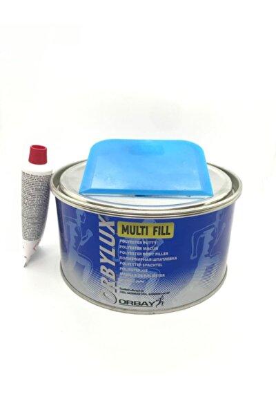 Orbay Polyester Çelik Macun 500gram Ve Plastik Macun Aparatı Hediye.