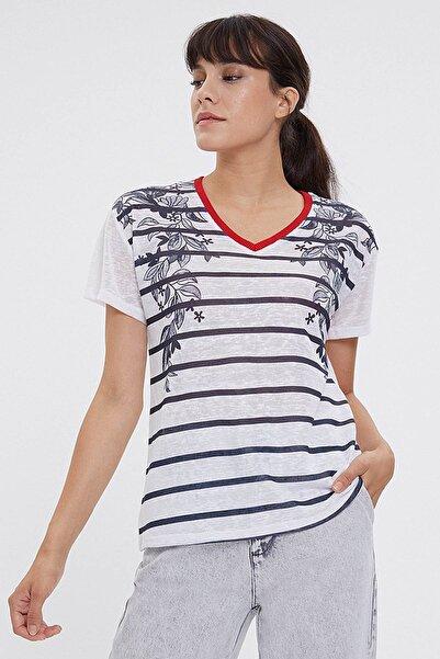 Loft Kadın T-Shirt LF2023528