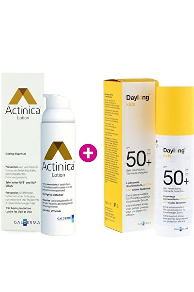 Daylong Actinica 80 Gr+kids 150 Ml Aile Paketi