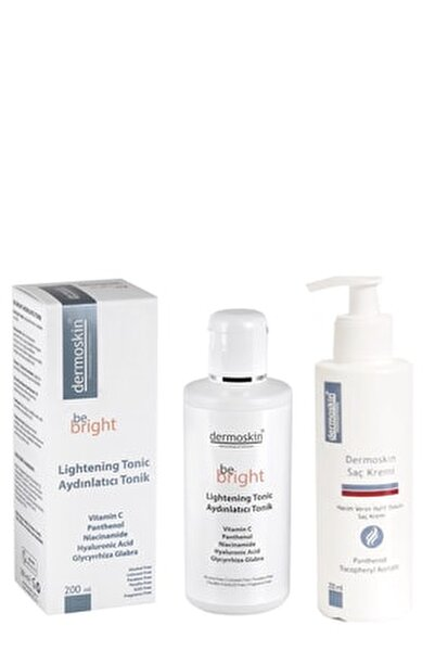 Be Bright Aydınlatıcı Tonik 200 Ml + Saç Kremi Hediyeli Avantaj Paket 200 ml