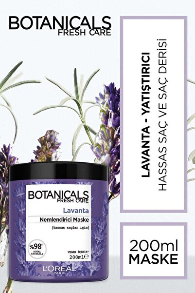 Botanicals Fresh Care Lavanta Özlü Nemlendirici Terapi Maske 200 Ml 3600523558650