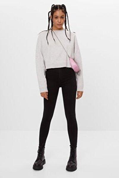 Kadın Siyah Süper Yüksek Bel Jean