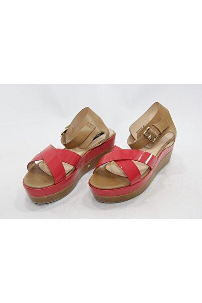 İnci Kadın Pembe Hakiki Deri Sandalet