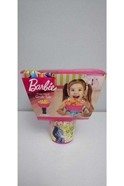 Tuffex Lisanslı Barbie Ikili Blok Çocuk Bardak Ve Atıştırma Kabı Seti Pembe
