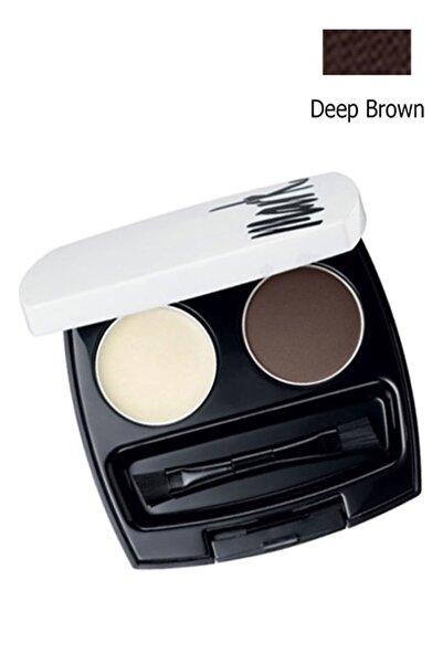 AVON 9085 Mark Perfect Kaş Şekillendirici Bakım Kiti - Deep Brown