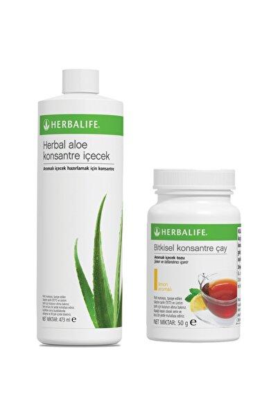 Herbalife Içecek Paketi 50 gr Limon Çay + Aloe Vera Içecek