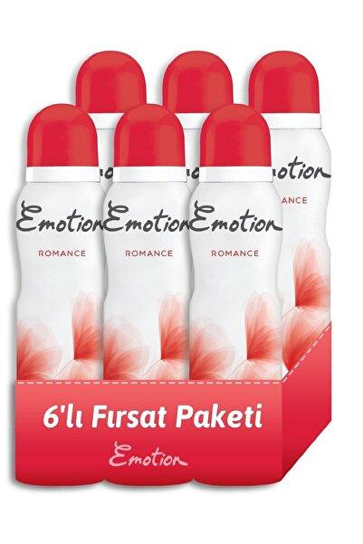 Emotion Romance Kadın Deodorant 6x150ml