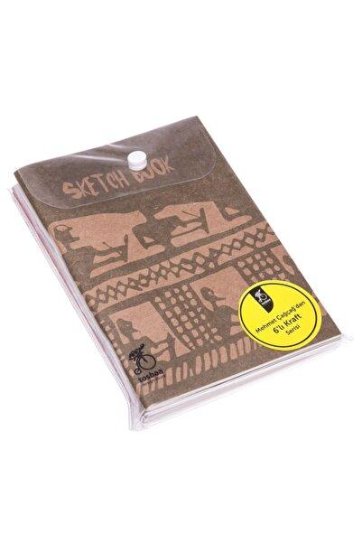 Tosbaa 6'lı Çağçağ Serisi Deftersketch Book