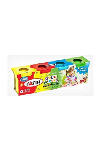 Fatih Oyun Hamuru 4 Renk 4x130 520 Gr Fa50061oh4r
