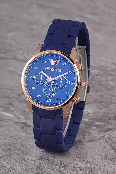 Polo55 Plks001r02 Kadın Saat Dekoratif Göstergeli Kadran Silikon Kordon
