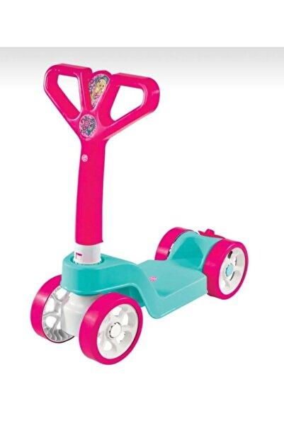 Furkan Toys Kız Çocuk Pembe Toys Linda 4 Tekerlekli Scooter