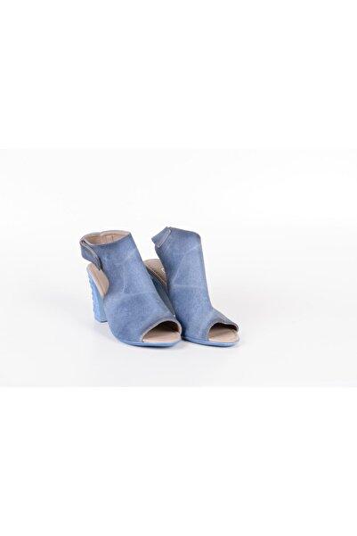 Awon Yazlık Topuklu Açık Kadın Ayakkabı
