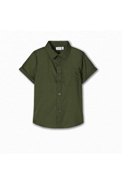 name ıt Name It  Erkek Çocuk Military Gömlek